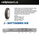 Pirelli  Sottozero Ice J