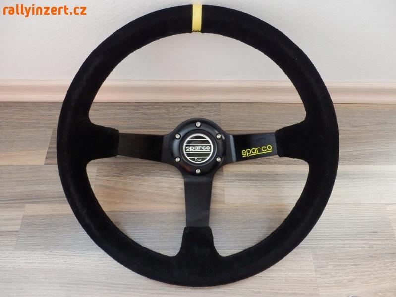 Sportovní volant SPARCO 350mm (semišový)