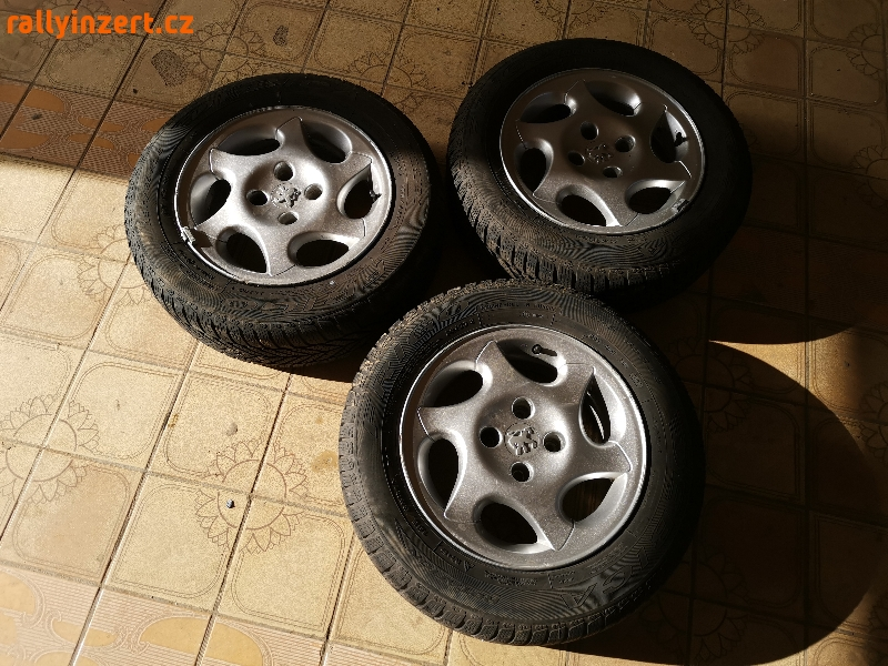 Alu disky Peugeot, velikost 15
