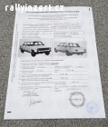 Homologační list VAZ 21011