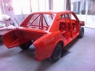 vyrámovaná karoserie Škoda 120,130